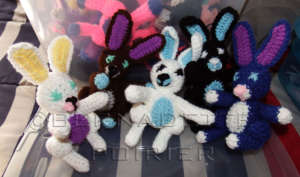 Samples of bunnies that I make.