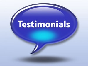 Read what our clients think of us. These Testimonials speak for themselves!